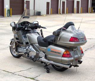 GL1800 Gold Wing with LegUp™ - Left Side